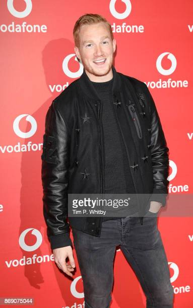 Greg Rutherford attends the Vodafone Passes Launch held at The Bankside Vaults on November 1 2017 in London England