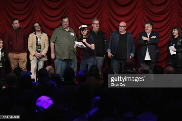 Greg Stone Ian Fidance Big A Jim Norton Mike Bocchetti Robert Kelly Ron Bennington and Gail Bennington take part in SiriusXM host Ron Bennington's...