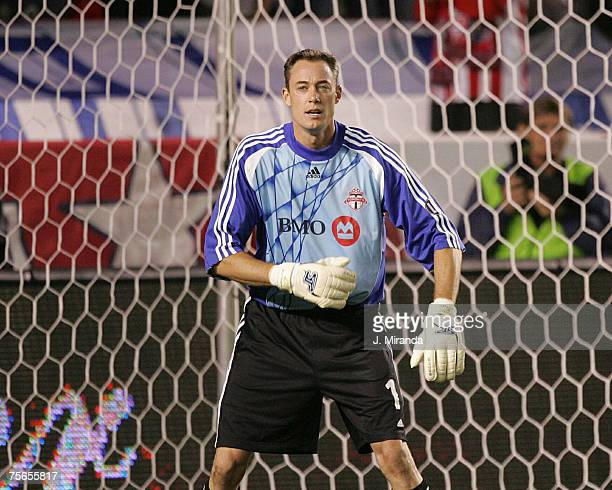 Greg Sutton during the game between Toronto FC and Chivas USA at the Home Depot Center Carson California on April 7 2007