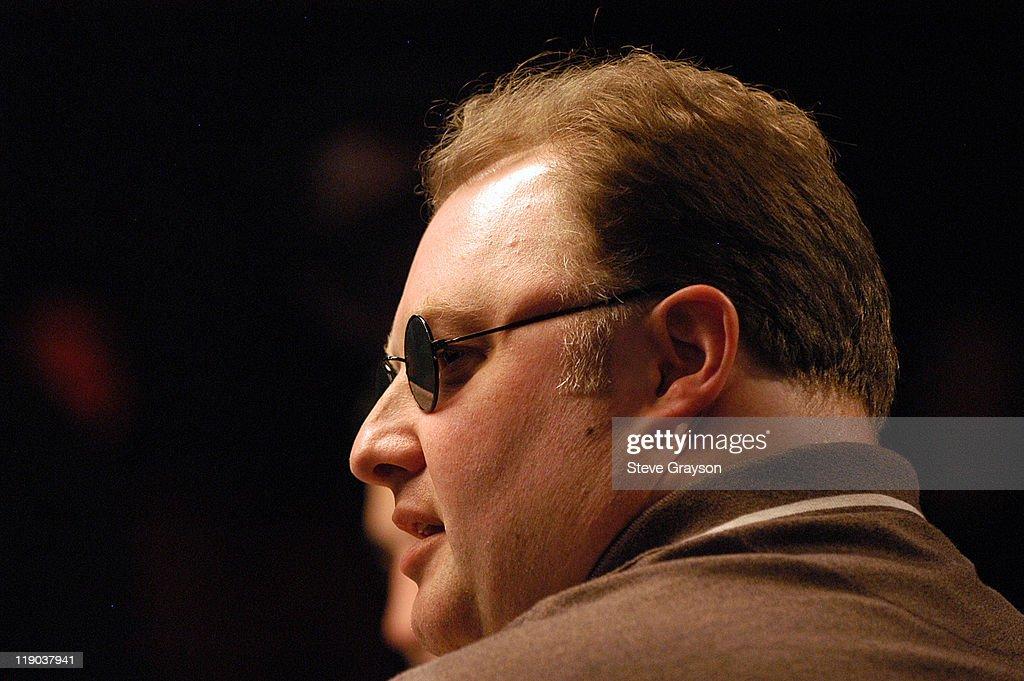 2004 World Series of Poker Championship Event - Final Round : News Photo