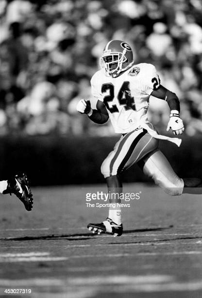 Greg Tremble of the University of Georgia Bulldogs circa 1992 in Athens Georgia