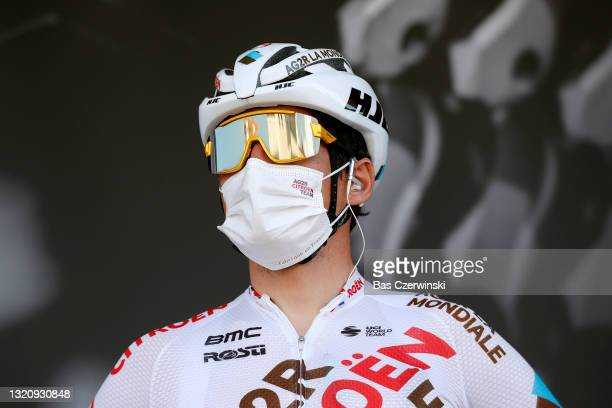 Greg Van Avermaet of Belgium and AG2R Citröen Team at start in Brioude City during the 73rd Critérium du Dauphiné 2021, Stage 2 a 172,8km stage from...
