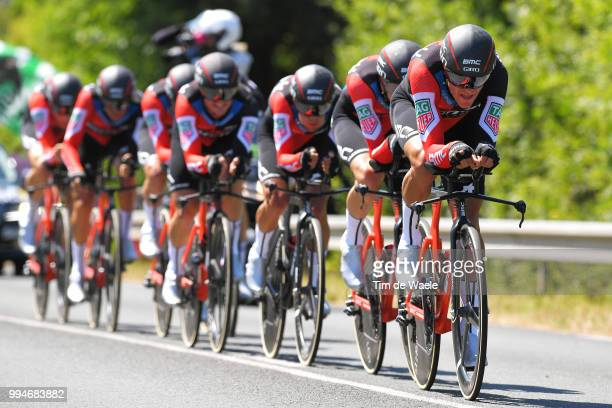 Greg Van Avermaet of Belgium and BMC Racing Team / during the 105th Tour de France 2018 Stage 3 a 355km Team time trial stage / TTT / from Cholet to...