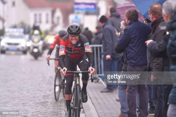Greg Van Avermaet of Belgium and BMC Racing Team / during the 73rd Dwars door Vlaanderen 2018 a 180,1km race from Roeselare to Waregem on March 28,...