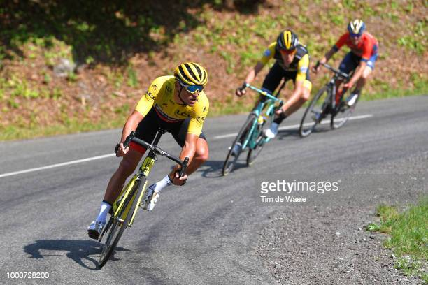 Greg Van Avermaet of Belgium and BMC Racing Team Yellow Leader Jersey / during the 105th Tour de France 2018 / Stage 10 a 1585km stage from Annecy to...