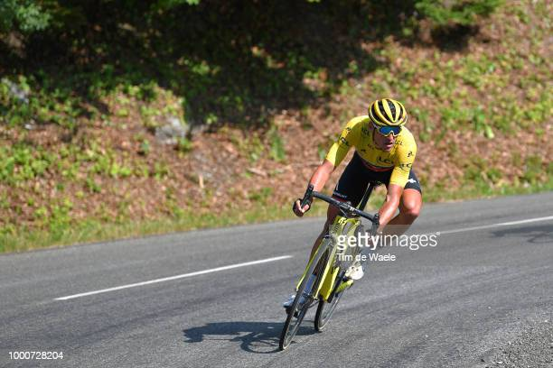 Greg Van Avermaet of Belgium and BMC Racing Team Yellow Leader Jersey / during the 105th Tour de France 2018 / Stage 10 a 158,5km stage from Annecy...