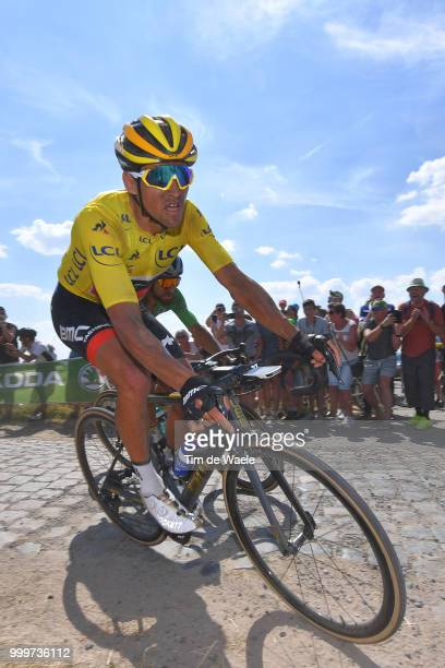 Greg Van Avermaet of Belgium and BMC Racing Team Yellow Leaders Jersey / during the 105th Tour de France 2018 Stage 9 a 1565 stage from Arras...