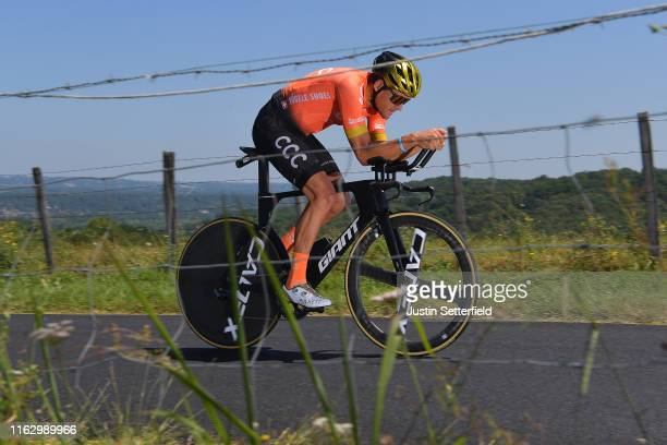 Greg Van Avermaet of Belgium and CCC Team / during the 106th Tour de France 2019 - Stage 13 a 27,2km Individual Time Trial Stage from Pau to Pau /...