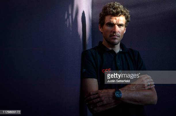 Greg Van Avermaet of Belgium and CCC Team /during the 10th Tour of Oman 2019 - Top Riders Press Conference / #TOO2019 / on February 15, 2019 in...