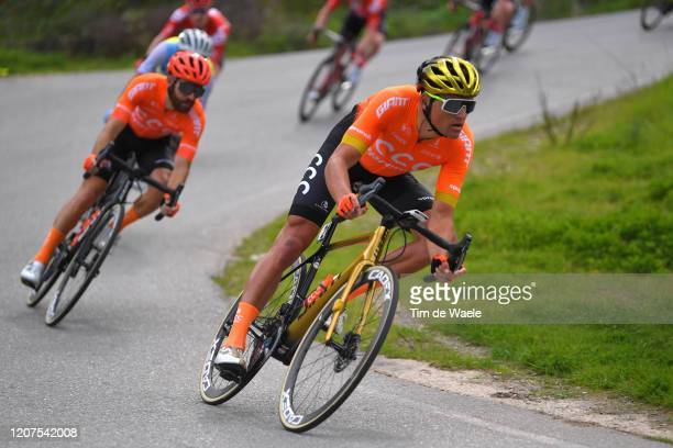Greg Van Avermaet of Belgium and CCC Team / Simon Geschke of Germany and CCC Team / during the 46th Volta ao Algarve 2020, Stage 2 a 183,9 km stage...