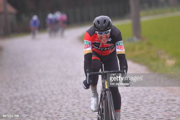 Greg Van Avermaet of Belgium and Team BMC Racing Team / during the 61st E3 Harelbeke 2018 a 2064km race from Harelbeke to Harelbeke on March 23 2018...