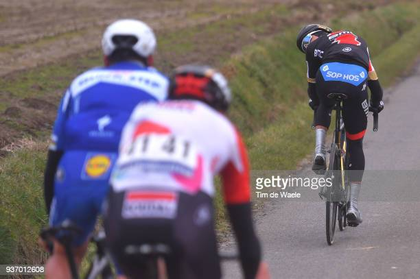 Greg Van Avermaet of Belgium and Team BMC Racing Team / during the 61st E3 Harelbeke 2018 a 206,4km race from Harelbeke to Harelbeke on March 23,...