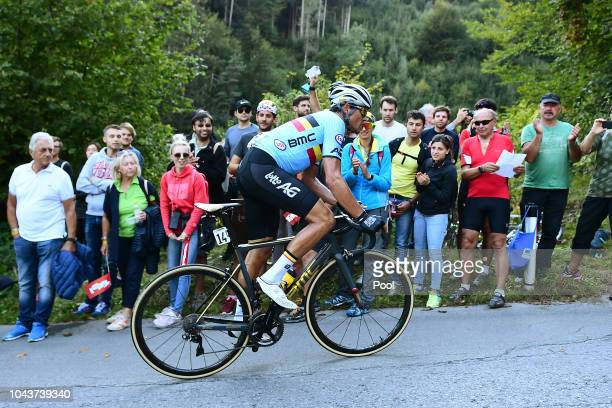 Greg Van Avermaet of Belgium / during the Men Elite Road Race a 2585km race from Kufstein to Innsbruck 582m at the 91st UCI Road World Championships...