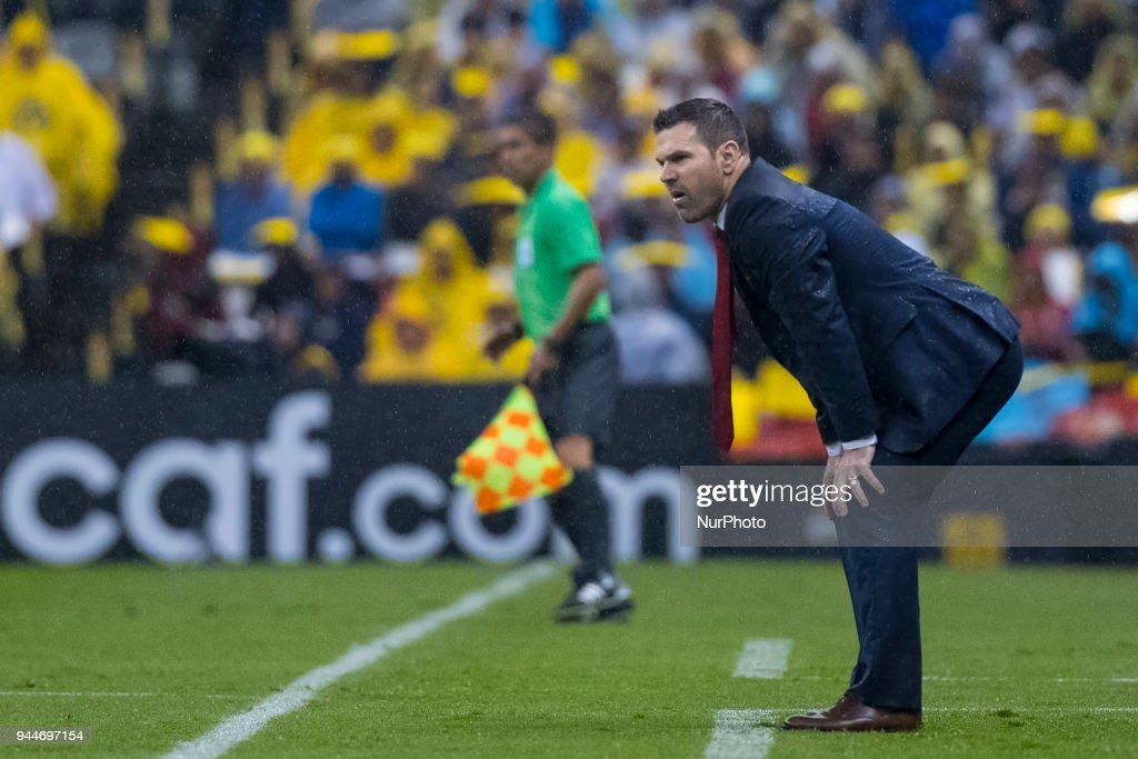 Greg Vanney Head Coach of Toronto FC during 2018 CONCACAF Champions League Semifinals, Leg 2 match between Club America and Toronto FC at Azteca Stadium in Mexico City, Mexico on 10 April, 2018.