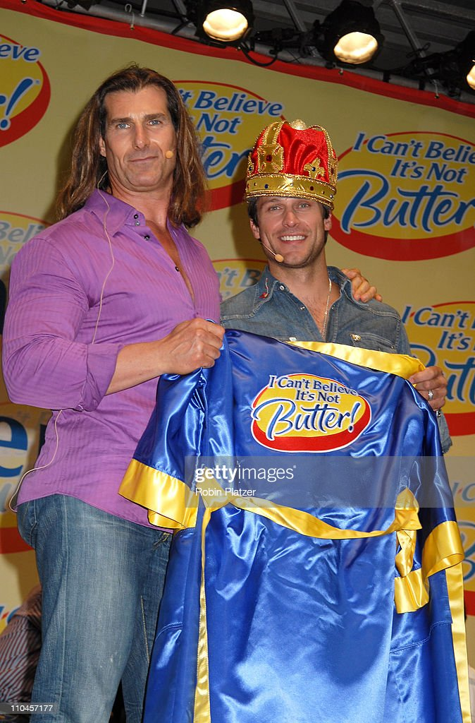 """Soap Stars Competing to be The New Spokesman for """"I Can't Believe Its Not Butter"""" - June 7, 2006 : News Photo"""