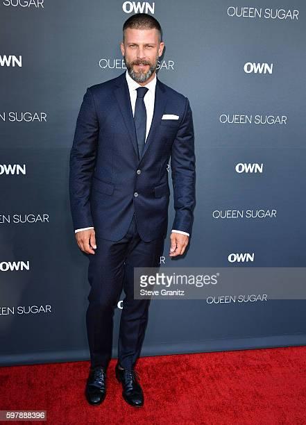 Greg Vaughan arrives at the Premiere Of OWN's Queen Sugar at Warner Bros Studios on August 29 2016 in Burbank California