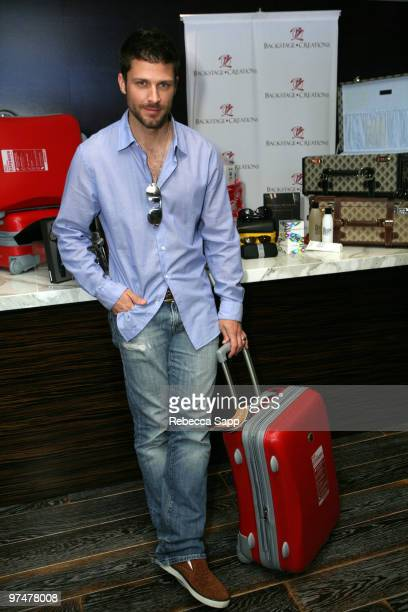 Greg Vaughan at Backstage Creations Celebrity Retreat at Haven360 at Andaz Hotel on March 5 2010 in West Hollywood California