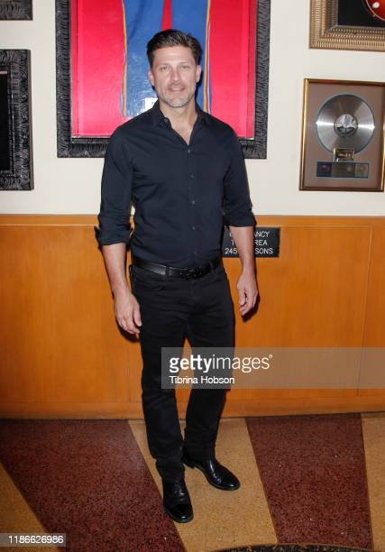 Greg Vaughan attends NBC's 'Days Of Our Lives' press event at Universal CityWalk on November 09 2019 in Universal City California