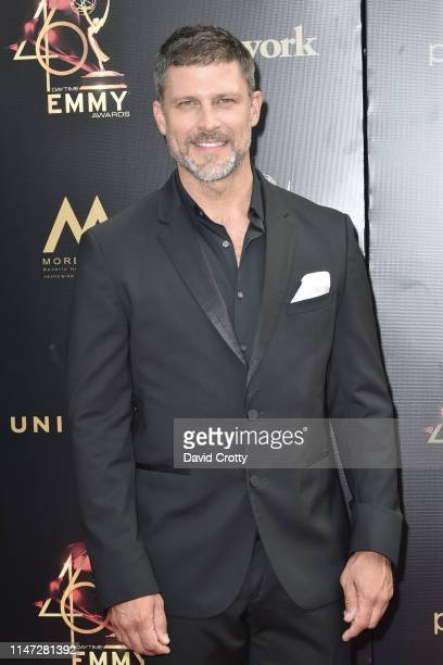 Greg Vaughan attends the 46th annual Daytime Emmy Awards at Pasadena Civic Center on May 05 2019 in Pasadena California