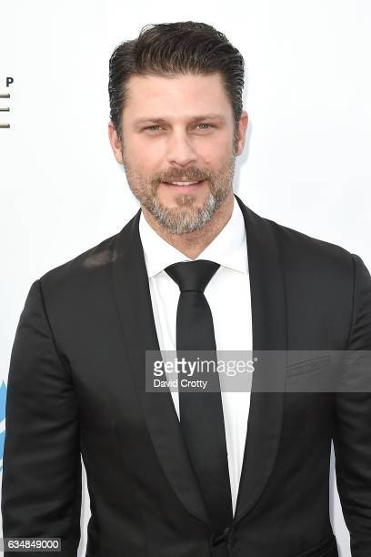 Greg Vaughan attends the 48th NAACP Image Awards Arrivals at Pasadena Civic Auditorium on February 11 2017 in Pasadena California