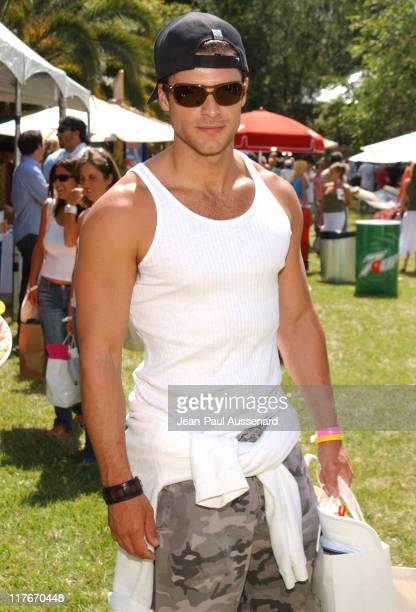 Greg Vaughan during Silver Spoon Hollywood Buffet Day 2 in Los Angeles California United States Photo by JeanPaul Aussenard/WireImage for Silver Spoon