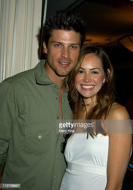 Greg Vaughan Natalia Livingston during ABC's General Hospital Fan Day Event at Sportsmen's Lodge in Studio City California United States