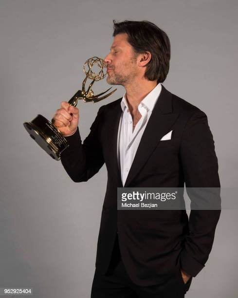 Greg Vaughan poses for portrait at 45th Daytime Emmy Awards Portraits by The Artists Project Sponsored by the Visual Snow Initiative on April 29 2018...