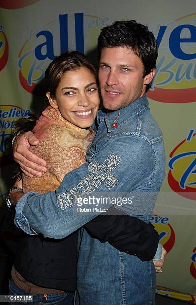 Greg Vaughan who will be the new I Can't Believe It's Not Butter Spokesman with new wife Touriya Vaughan