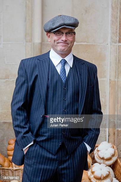 Greg Wallace attends the British Food Fortnight's harvest festival at Westminster Abbey on October 16, 2013 in London, England.