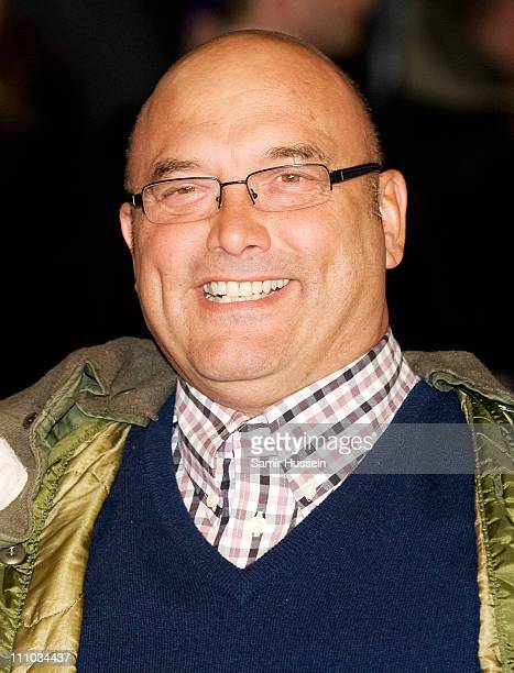 Greg Wallace attends the UK Film Premiere of 'Brighton Rock' at the Odeon West End on February 1, 2011 in London, England.