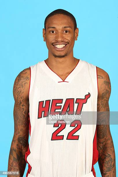 Greg Whittington of the Miami Heat poses for a portrait during the 2015 Media Day on September 28 2015 at the American Airlines Arena in Miami...
