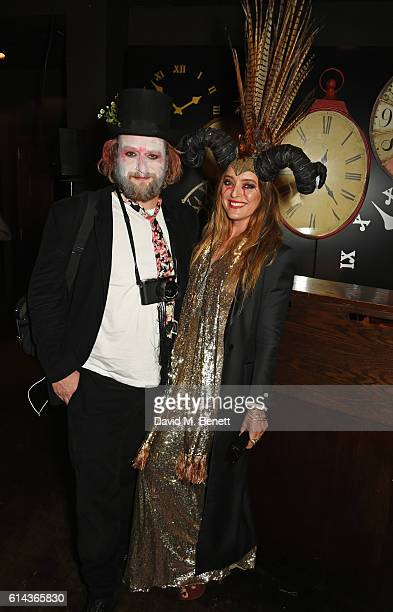 Greg Williams and Alice Temperley attend the Unicef UK Halloween Ball raising vital funds to support Unicef's lifesaving work for Syrian children in...