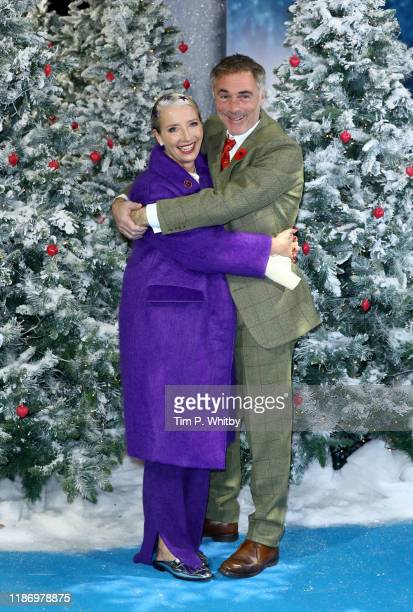 Greg Wise and Emma Thompson attend the Last Christmas UK Premiere at BFI Southbank on November 11 2019 in London England