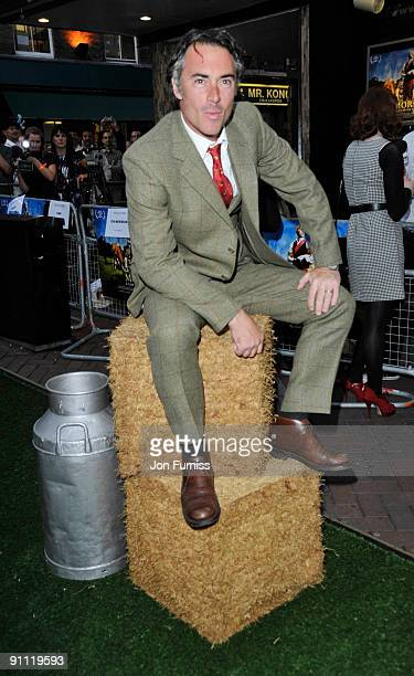 Greg Wise arrive for the UK film premiere of 'Morris A Life With Bells On' at the Prince Charles Cinema on September 24 2009 in London England