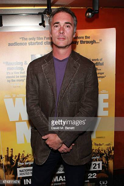 Greg Wise attends a special screening of 'We Are Many' at The Curzon Mayfair on May 21 2015 in London England