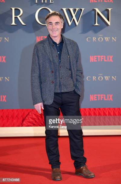 Greg Wise attends the World Premiere of Netflix's 'The Crown' Season 2 at Odeon Leicester Square on November 21 2017 in London England