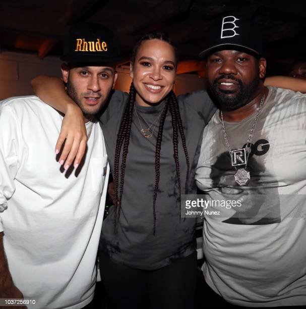 Greg Yuna DJ Megan Ryte and Raekwon attend the Chapter II x Puma Suede 50th Anniversary at Alife on September 20 2018 in New York City
