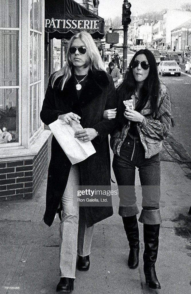 Gregg Allman and Cher on Wisconsin Avenue in Georgetown
