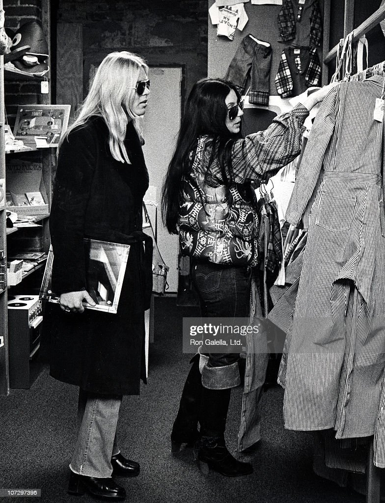 Gregg Allman and Cher shop at The Red Balloon in Georgetown