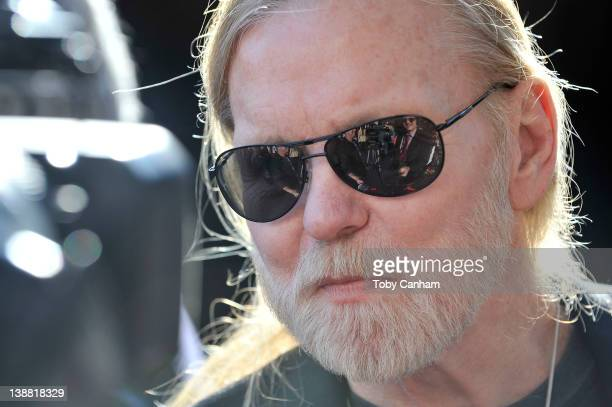 Gregg Allman arrives for the 54th Annual Grammy Special Merit Awards at The Wilshire Ebell Theatre on February 11 2012 in Los Angeles California