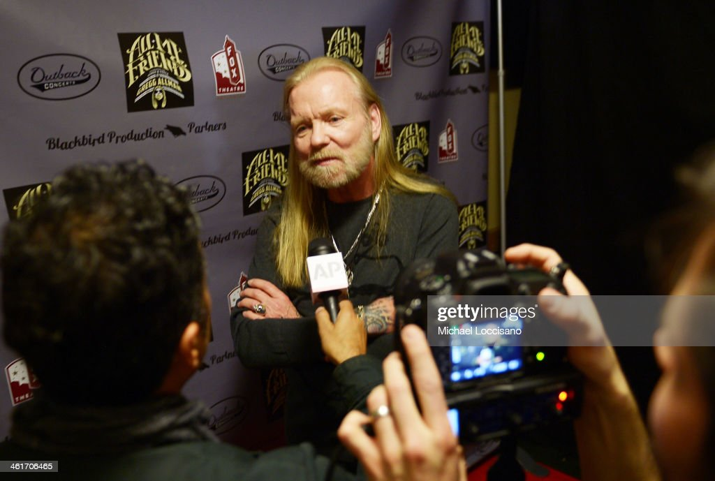 All My Friends: Celebrating The Songs & Voice Of Gregg Allman - Arrivals : News Photo