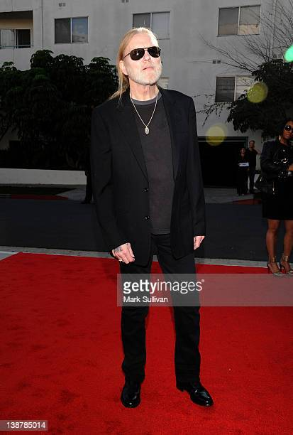 Gregg Allman attends The 54th Annual GRAMMY Awards Special Merit Awards Ceremony at The Wilshire Ebell Theatre on February 11 2012 in Los Angeles...