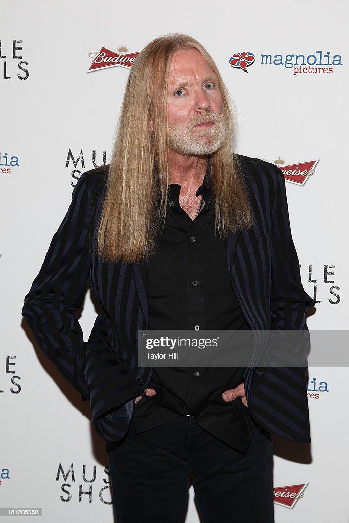 Gregg Allman attends the 'Muscle Shoals' New York screening at Landmark Sunshine Cinemas on September 19, 2013 in New York City.