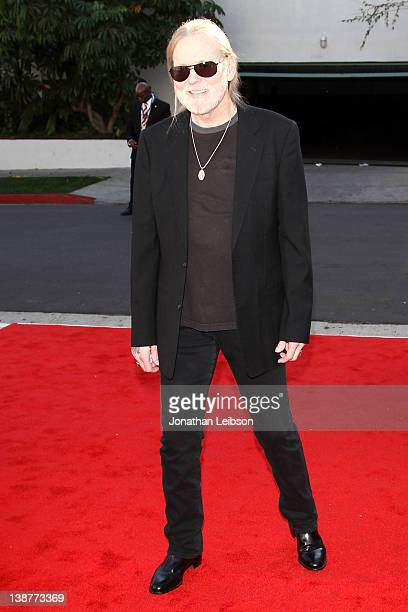 Gregg Allman attends the The Recording Academy's Annual GRAMMY Special Merit Awards Ceremony at The Wilshire Ebell Theatre on February 11 2012 in Los...
