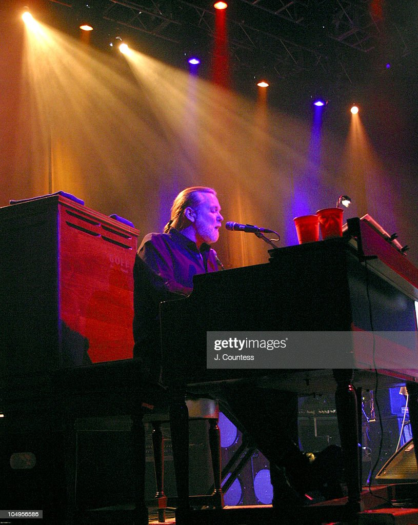 Gregg Allman during The Allman Brothers Band Live at the Beacon Theater, New York City at Beacon Theater in New York City, New York, United States.
