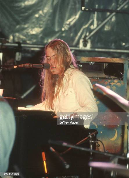 Gregg Allman live in concert with the Allman Brothers Band on August 5 1974 in Los Angeles California