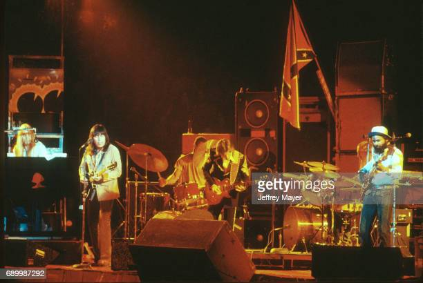 Gregg Allman live in concert with the Allman Brothers Band on August 20 1973 in Los Angeles California