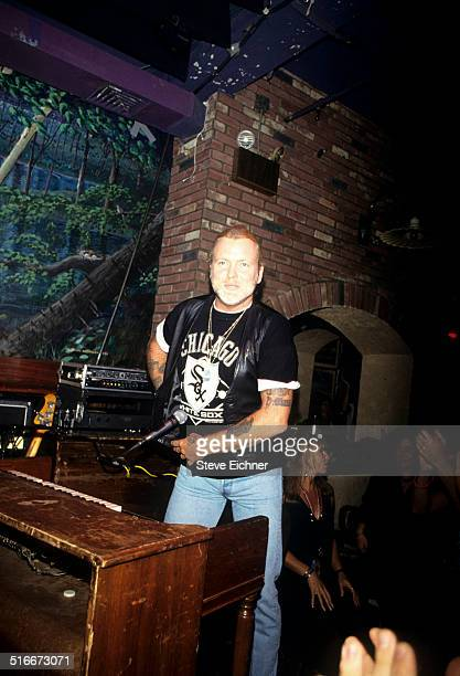 Gregg Allman of the Allman Brothers at Wetlands Preserve New York August 30 1992