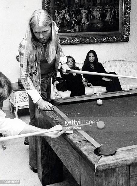 Gregg Allman of The Allman Brothers Band during Birthday Party for Bill Oskow May 20 1977 at Bill Oskow's Beverly Hills home in Beverly Hills...