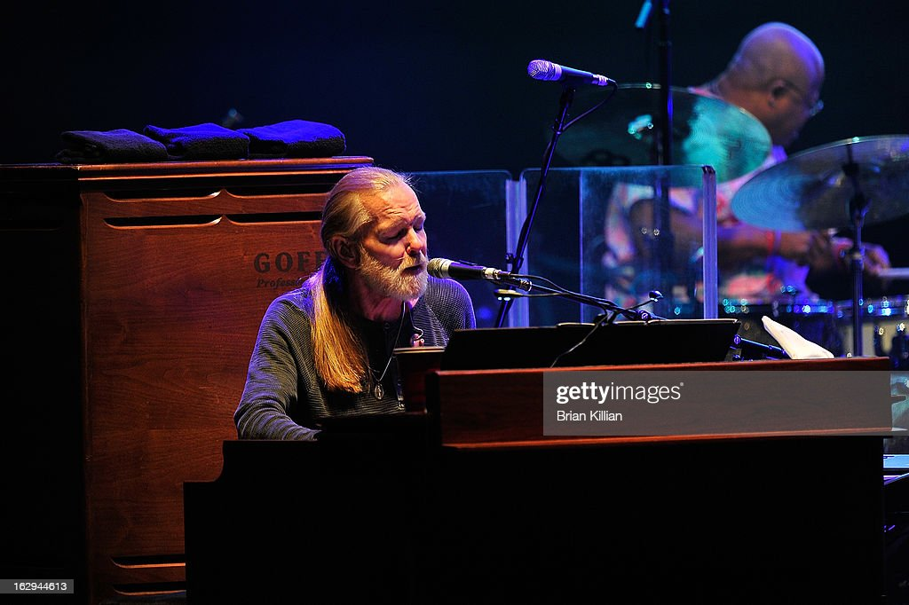 Gregg Allman of The Allman Brothers Band performs at Beacon Theatre on March 1, 2013 in New York City.